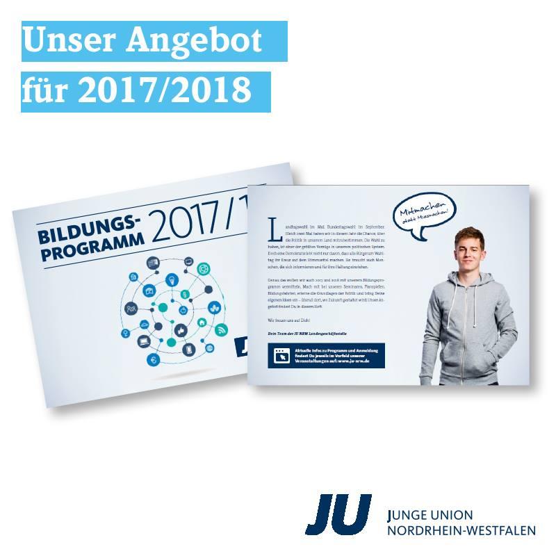 Bildungsprogramm der Jungen Union NRW