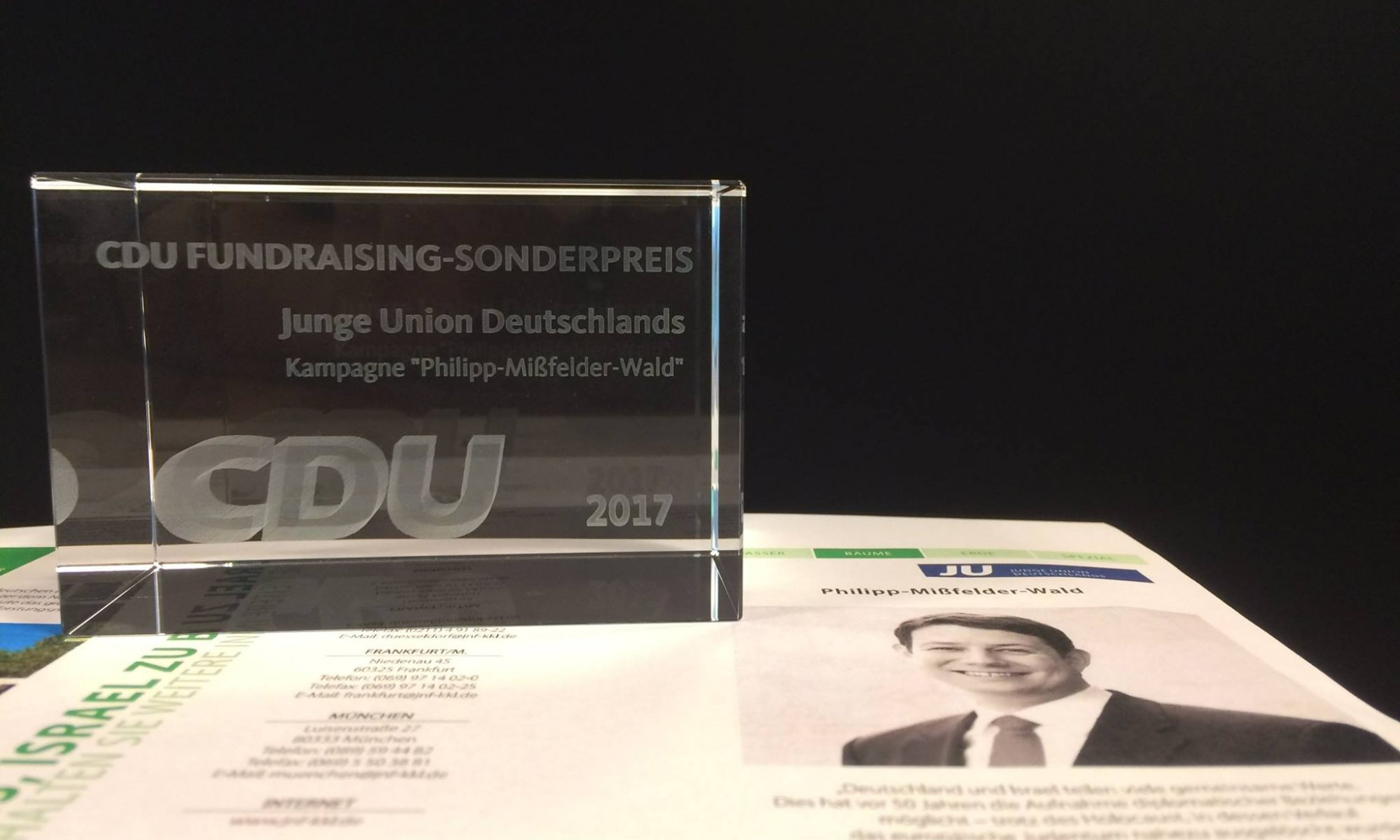 CDU Fundraising Sonderpreis